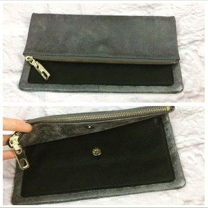 GAP Metallic Leather Clutch